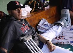 Second baseman Dustin Pedroia, who is recovering from a broken foot, is expected to rejoin the Red Sox lineup in early August.