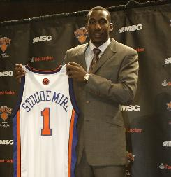 Amar'e Stoudemire signed a five-year, $100 million contract with the New York Knicks, but the team is having trouble insuring the deal.