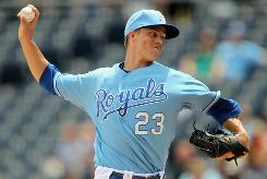 Royals'  Zack Greinke is 6-1 with 47 strikeouts and eight walks in his past seven starts.