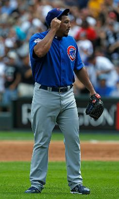 Carlos Zambrano, who was sent to the minors, has not pitched since Cubs manager Lou Piniella sent him to the showers on June 25.