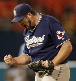 Closer Heath Bell says teams expecting the Padres to fold in the second half will have a long wait.