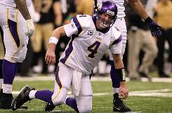 Brett Favre has not yet told the Vikings if he will play in 2010.