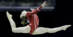 Gymnast Rebecca Bross, who won the all-around silver at the 2009 World Championships, is one of a handful of American athletes expected to emerge at the London Games.