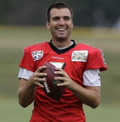 Joe Flacco has started every game for the Ravens in his first two seasons.