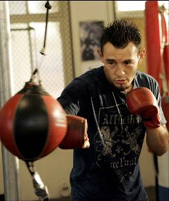 Robert Guerrero's wife Casey, the mother of his two children, was diagnosed with leukemia shortly before he defended his title with a stunning first-round knockout in 2007.