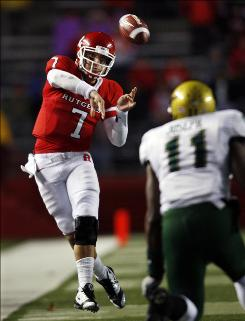 Rutgers sophomore Tom Savage has the most starting experience of any Big East conference quarterback.