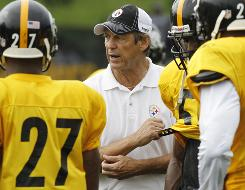 """Dick LeBeau,"" Steelers safety Troy Polamalu said, ""is the greatest coach of all time."""