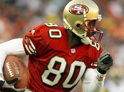 Jerry Rice is the NFL's all-time touchdown leader with 208 scores