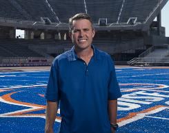 Fresh off a 14-0 season and Fiesta Bowl win, Boise State coach Chris Petersen is looking to put the Broncos in national title contention.