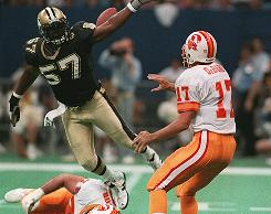 "Rickey Jackson was part of the ""Dome Patrol"" for the Saints."