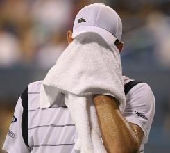 Andy Roddick of the USA drops out of the top 10 in the world rankings this week, meaning that for the first time since the rankings were instituted in 1973 there are no Americans in the top 10.