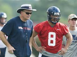 Mississippi quarterback Jeremiah Masoli, who pleaded guilty to burglary in March, transferred from Oregon for a fresh start under Rebels head coach Houston Nutt.