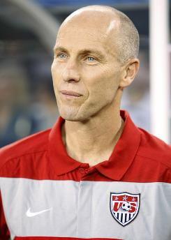 United States soccer coach Bob Bradley's contract expires at the end of the year.