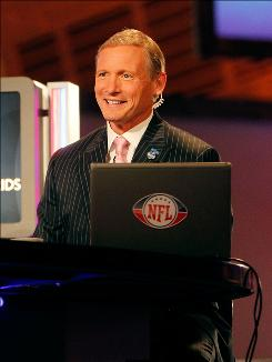 Having a low profile has paid off for NFL Network analyst Mike Mayock.