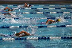USA Swimming, an umbrella organization that oversees events such as this one Wednesday in Rockville, Md., has been named in five lawsuits alleging sexual misconduct by coaches.