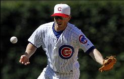 Infielder Mike Fontenot, 30, who was traded from the Cubs to the Giants Wednesday, is batting .284 with 20 RBI in 75 games this season.
