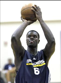Pacers rookie Lance Stephenson, playing in an NBA summer league game on July 5, was arrested in his native New York, accused of assaulting his girlfriend.