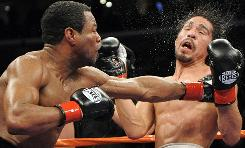Shane Mosley knocked out Antonio Margarito in the ninth round in January 2009 after Margarito was found to have illegal hand wraps before the fight.