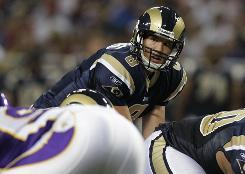 The Rams are gauging the readiness of first overall draft pick Sam Bradford this preseason.