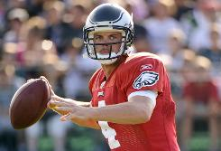 Kevin Kolb is entering his first year as the Eagles starter after replacing Donovan McNabb.
