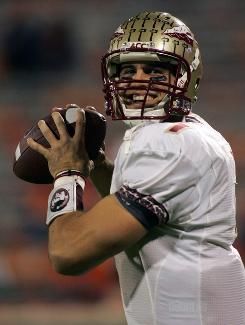 Florida State quarterback Christian Ponder, who is working on his second master's degree, will play his senior season under new Seminoles head coach Jimbo Fisher.