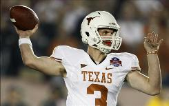 Texas' Garrett Gilbert has national championship game experience after replacing Colt McCoy against Alabama.