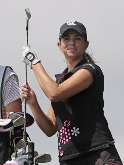 The Clark County, Nev., coroner's office ruled LPGA player Erica Blasberg's death a suicide. She was found dead May 9 in her home in Las Vegas.