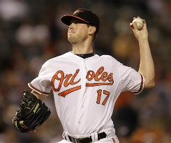 Orioles starter Brian Matusz has a 2.63 ERA in August, including eight scoreless innings in his last start.