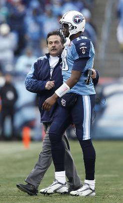 Titans coach Jeff Fisher, entering his 16th full season with the team, has handled quarterback Vince Young with care since Young was drafted third overall in 2006.
