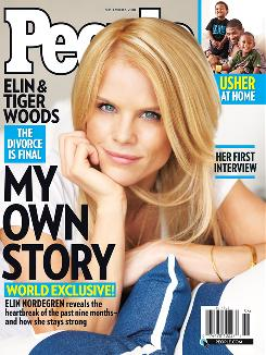 Elin Nordegren tells her side of the story in the latest issue of People Magazine.