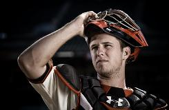 "Buster Posey, who took over as the Giants No. 1 catcher when Bengie Molina was traded July 1, hit .417 with seven homers and 24 RBI that month. ""It's like you get a vote of confidence. You're the guy. We're counting on you."""