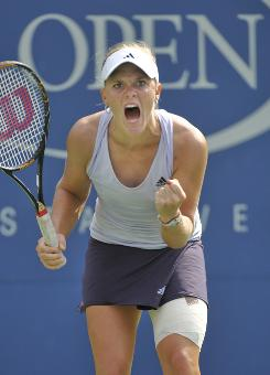 Melanie Oudin of the USA made big noise a year ago at the U.S. Open at age 17, knocking off thee high seeds and reaching the quarterfinals. She has struggled through a sophomore season.