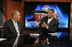 Rodney Harrison has made several headlines with his pointed analysis on NBC Sports since joining the network as an analyst following his retirement last year.