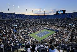 Arthur Ashe Stadium is the biggest tennis stadium in the world, and it's also perhaps the windiest. Players also question whether it's the fastest of the Grand Slam courts.