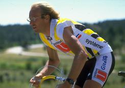 In 1986, Laurent Fignon competed in the World Cycling Championships in Denver.