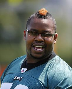 "Offensive lineman Shawn Andrews was a two-time Pro Bowler with the Eagles. He signed with the Giants in the offseason after missing all of the 2009 season. ""I didn't know what depression was,"" he says. ""I just held a lot of things in."""