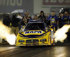 "Ron Capps, in a qualifying run July 16, is the winningest Funny Car driver in NHRA history without a championship. ""I don't know what it's going to feel like,"" Capps says. ""I do know what it feels like to have it taken away on Sunday, the last race of the year. It's like someone punched you in the gut."""