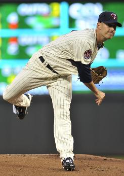Minnesota Twins pitcher Matt Fox got the starting nod when scheduled starter Nick Blackburn was forced to pitch in a 13-inning loss to Detroit.