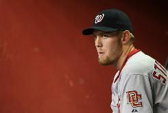 Stephen Strasburg finished his 2010 season 5-3 with a 2.91 ERA in 12 starts for the Nationals before undergoing Tommy John surgery Friday.