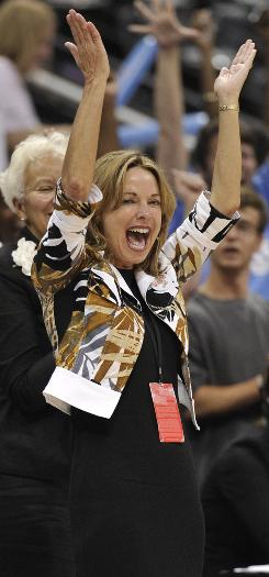 Kathy Betty, who purchased the WNBA's Atlanta Dream last year, is among a handful of female owners in the league. The Seattle Storm, Los Angeles Sparks and Washington Mystics also are owned by women. 