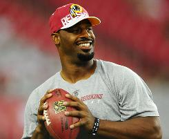 Redskins QB Donovan McNabb expects to play on Sunday despite not feeling 100%.