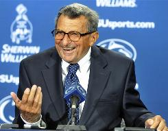 Joe Paterno leads No. 14 Penn State into Tuscaloosa to face No. 1 Alabama this weekend. It will be Paterno's first appearance in Alabama since breaking Crimson Tide legend Bear Bryant's all-time record for coaching wins.