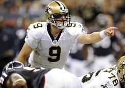 Drew Brees and the Saints aim to bring home a second consecutive NFL title in the 2010 season.