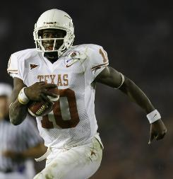 When it's all said and done, Vince Young should receive the award.