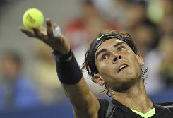 Rafael Nadal of Spain has brought a bigger, better serve to the U.S. Open this year, and the top seed has yet to drop his serve through four rounds.