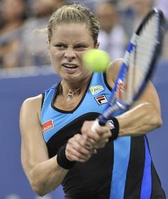 Kim Clijsters, who will face Venus Williams in Friday's women's semifinals, has won 19 consecutive matches at the U.S. Open.