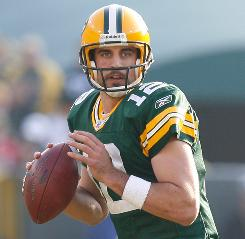 Aaron Rodgers is entering his third season as the Packers' starter.