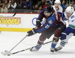 Peter Forsberg last played in the NHL in 2007-08, finishing up that season with the Colorado Avalanche.