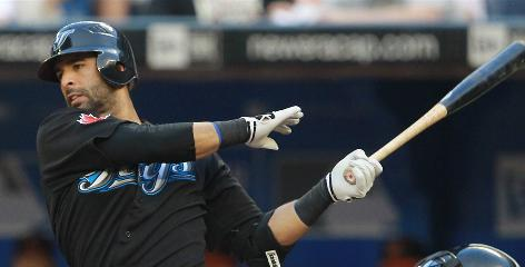 One of the many things contributing to Jose Bautista's big numbers was learning to consistently pull the ball, often over the left-field fence.