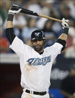 Jose Bautista showed promise last September, when he slammed 10 homers after working with batting coach Dwayne Murphy.